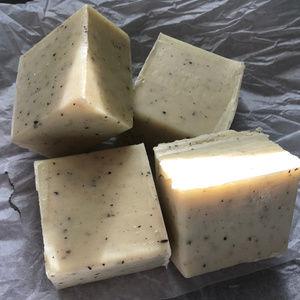 Shea Butter Soap with Eucalyptus & Hemp Oil